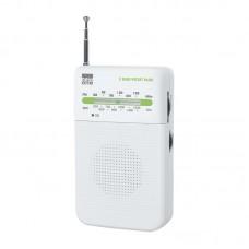 Φορητό Ραδιόφωνο New One R206W Λευκό